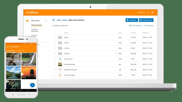 HiDrive 1 TB aanbieding