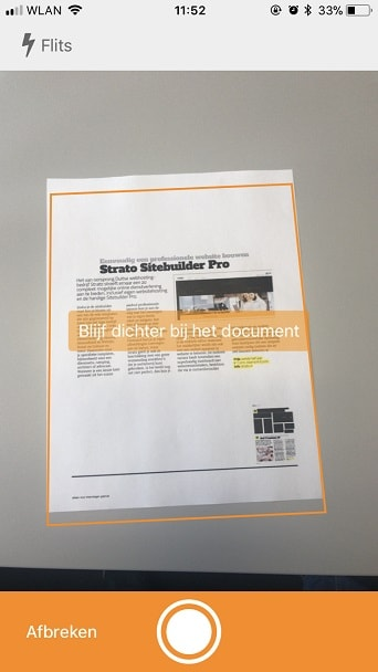 pdf-sanner HiDrive