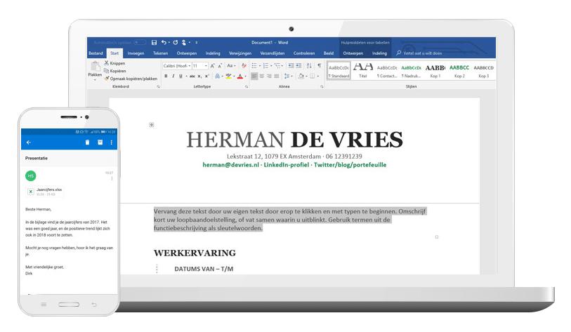 Office 365 bij STRATO