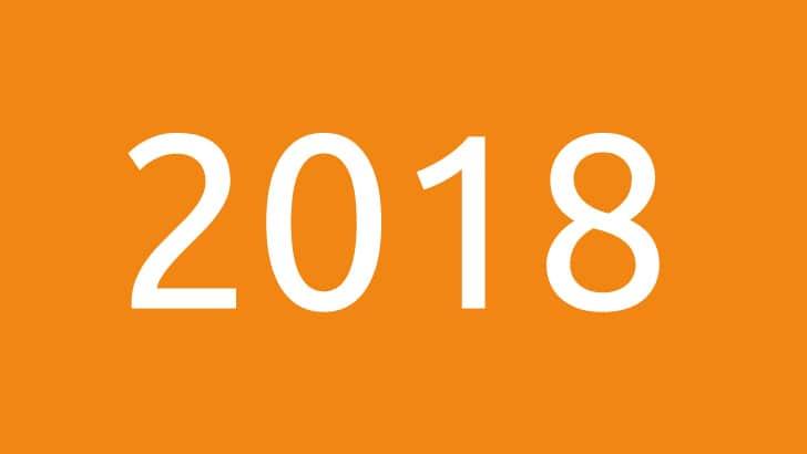 2018 bij STRATO: het jaar in vogelvlucht