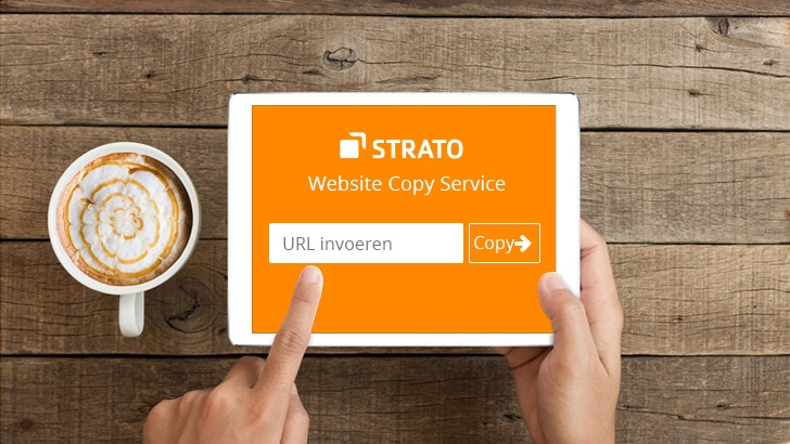 1 APRIL – Nieuw: STRATO Website Copy Service