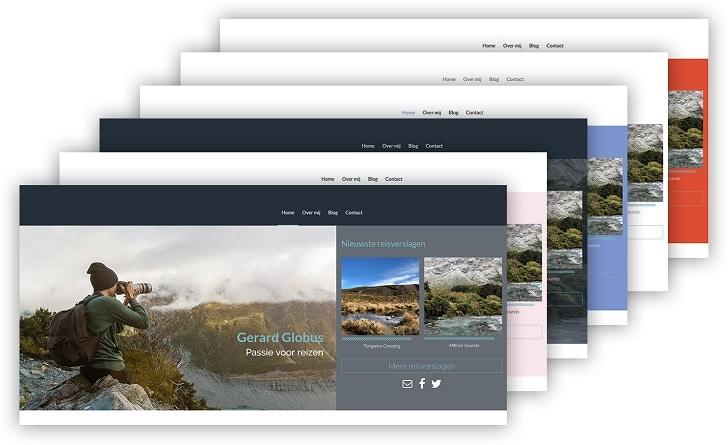 Nieuw: versiebeheer voor Sitebuilder