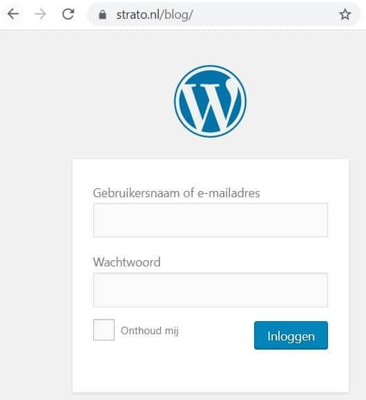 Veilig inloggen bij WordPress door middel van een versleutelde verbinding
