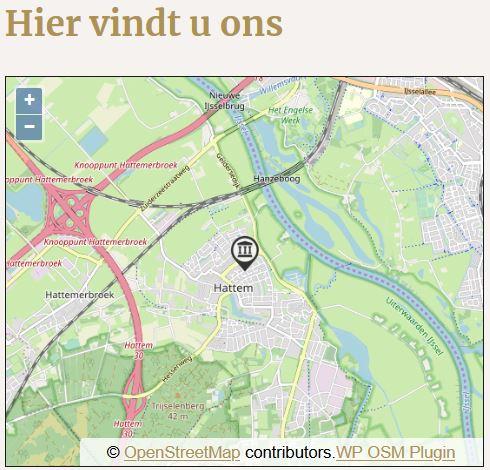 OpenstreetMap op website