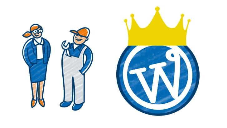 Een professionele bedrijfswebsite met premium-thema's voor WordPress