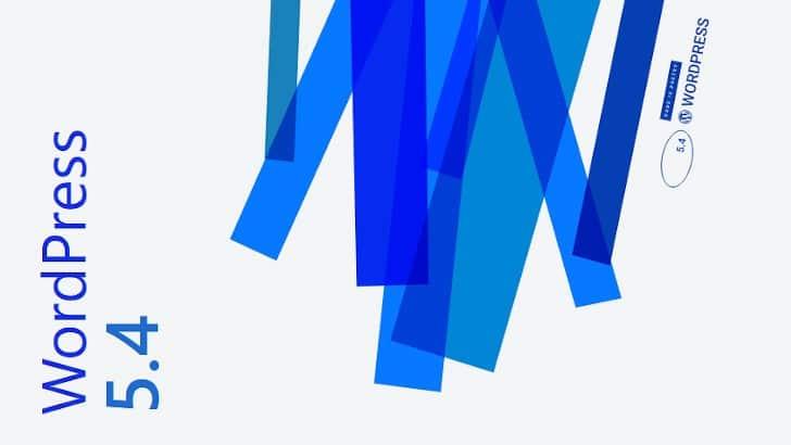 WordPress 5.4: de belangrijkste updates
