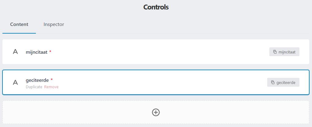 Lazy blocks: alle controls zijn nu gedefinieerd