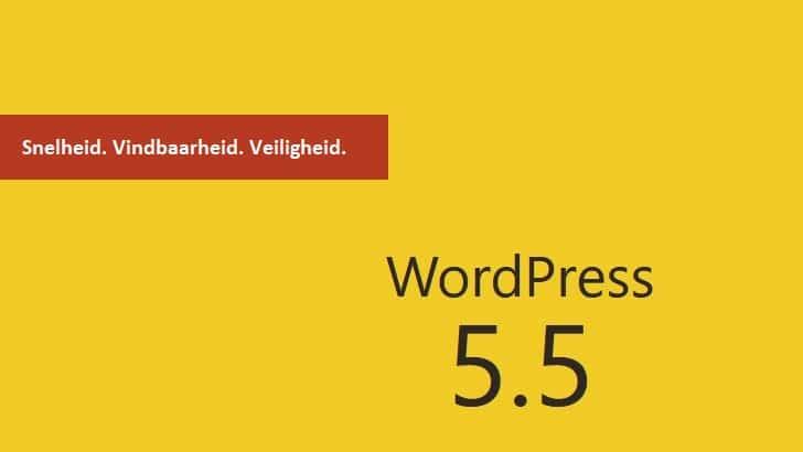 WordPress 5.5: alles over de nieuwe versie
