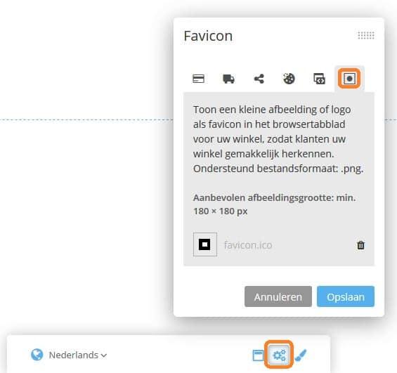 STRATO Webshop Now: zo stel je jouw favicon in