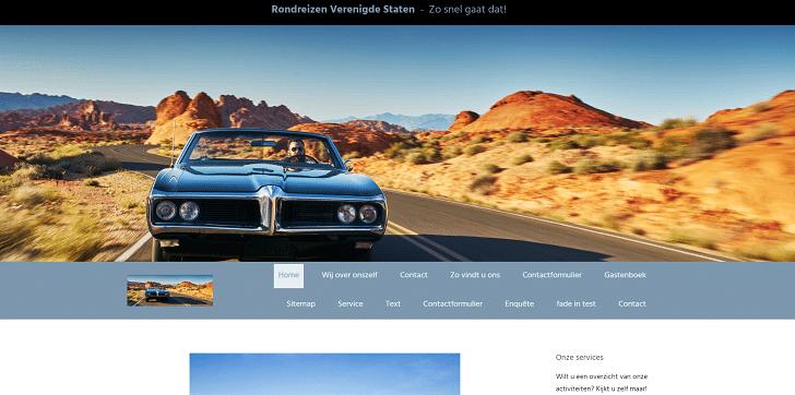 Preview van je nieuwe website