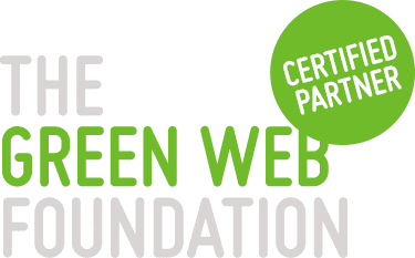 Certified Partner logo van de Green Web Foundation