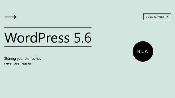 WordPress 5.6: de belangrijkste updates