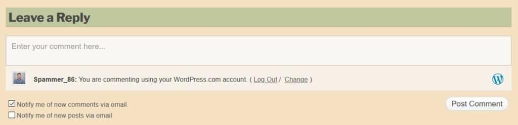 WordPress: notificaties ontvangen als anderen een reactie plaatsen