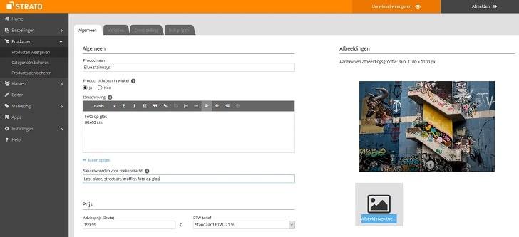 STRATO Webshop Now: je kunst aantrekkelijk aanbieden