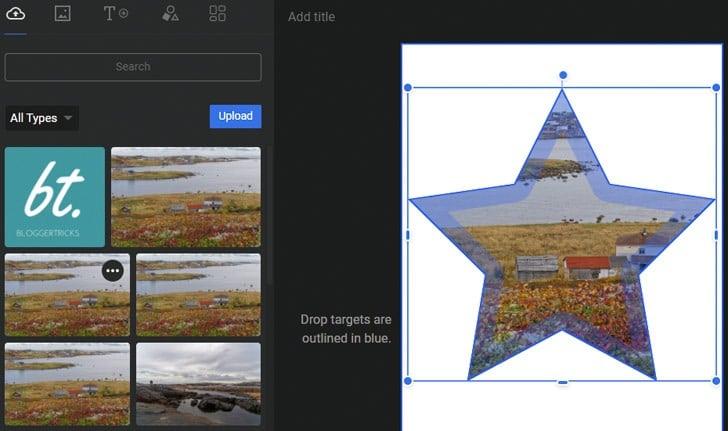 Google Web Stories: je kunt afbeeldingen ook in een geometrische vorm invoegen