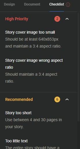 """Google Web Stories: kijk naar de checklist voordat je op """"publiceren"""" klikt"""