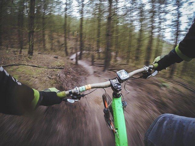 Het voorbeeld van de hobby-mountainbiker die een action-cam wil kopen