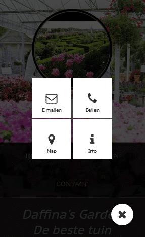 Met de smart access-button open je de belangrijkste info.