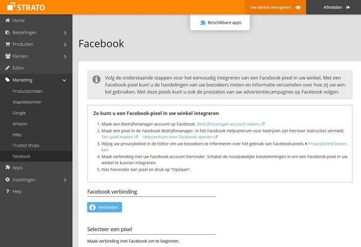 Zo integreer je een Facebook-pixel in je webshop