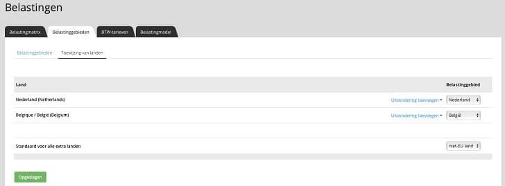 STRATO webshop: belastingtarieven handmatig aanpassen (2)