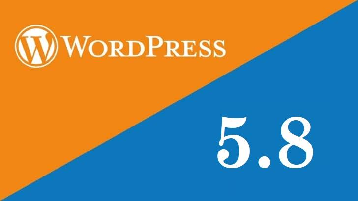 WordPress 5.8: de belangrijkste updates