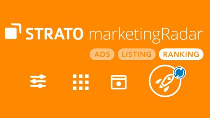 STRATO rankingCoach: zichtbaar voor alle zoekmachines