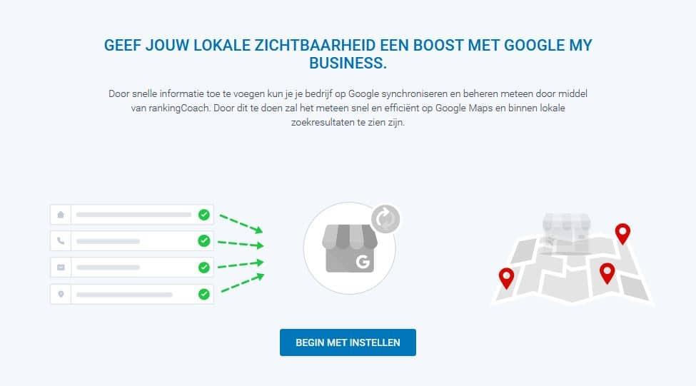 STRATO rankingCoach: Google my Business