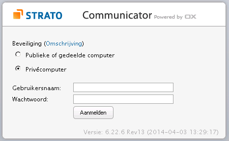 Mail Communicator Strato